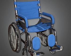 HPL - Wheel Chair PBR Game Ready 3D model
