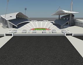Istanbul Ataturk Olimpic Stadium 2020 Uefa 3D model 1