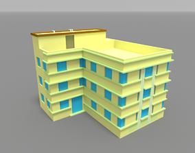 Voxel Miami Hotel 7 3D model