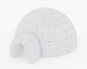 3D model PBR Igloo