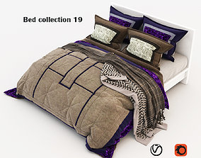 Bed collection 19 3D bed