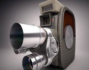 3D model Keystone K-26 8mm 1958 Camera