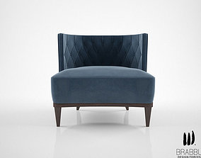 3D model Brabbu Bourbon armchair