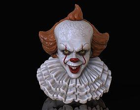 horror PENNYWISE CLOWN IT2 3D print model