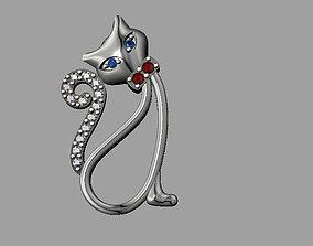 3D printable model Cat Pendant pendant-necklace
