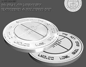 3D printable model 5th Seal of Mercury
