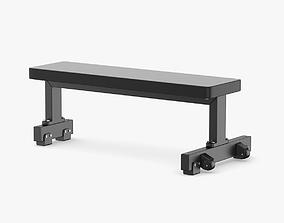 Technogym Pure Flat Bench 3D