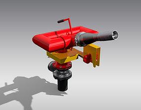 Oscillating Fire Monitor 3D