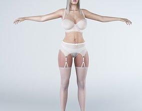 3D asset Woman 1