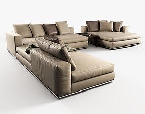 3D Hamilton Modular Sofas