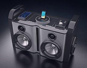 Boom Box record 3D