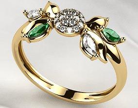 3D print model Beautiful Gold Ring