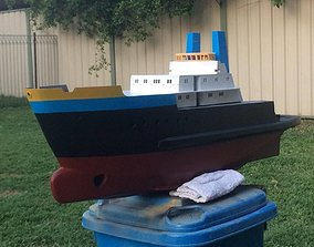 Remote Controlled Smit London Ocean Tug 3D print model