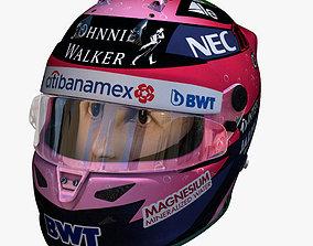 Perez helmet 2018 3D model
