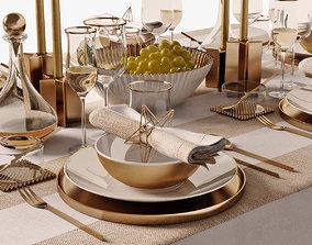 table setting 05 3D