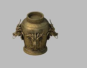3D Dynasty Jar 117