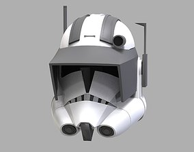 Captain Vaughn Helmet TCW - 3D Print Files STL lightsaber