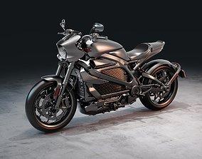 Harley Davidson LiveWire vehicle 3D model