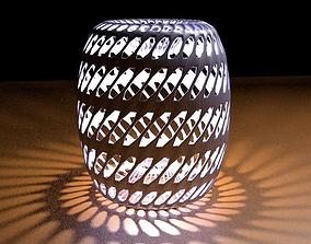 Decorative Metal Holder 3D model
