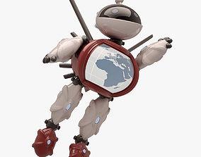 Robot 003 1 POSE 3D asset