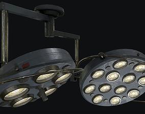3D model Large Operating Lamp