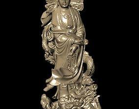 3D printable model bust The Bodhisattva