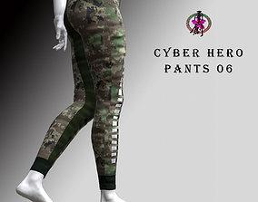 3D asset Cyber Hero - Pants 06