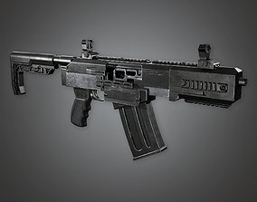 FPS Modern Shotguns - Vita Mortem - MSG - PBR 3D asset 1