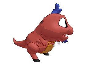 Cartoon Creature 3D asset