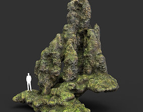 3D model Low poly Fantasy Formation Rock 03 A 200213
