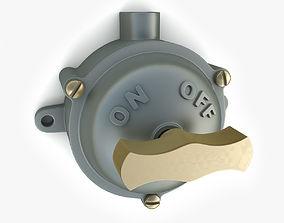 Vintage Industrial Switch 06 3D