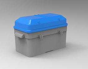 Marine Battery Box 3D