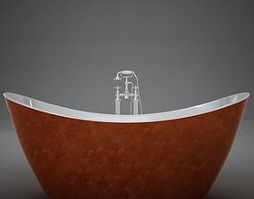 Heritage Hylton Copper Bath 3D