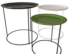 3D model Set of coffee tables BoConcept CARTAGENA