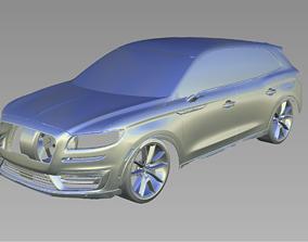 2019 Lincoln Nautilus 3D Scan Data 3D model 3D print