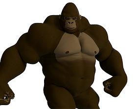 Cartoon Gorilla 3D model