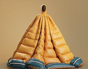 3D model Pierpaolo Piccioli down jacket