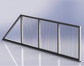 3D model Cantilever Sliding Gates