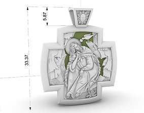 CROSS ANGEL Prophet Elias jewelry 3d model