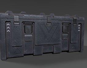 3D asset Scifi Heavy Crate
