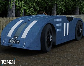 3D model 1923 Bugatti Type 32