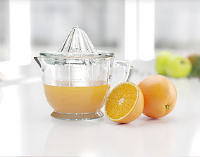3D Hand operated juicer