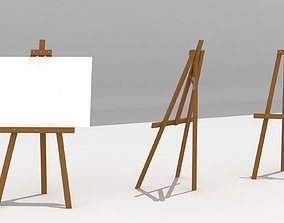 3D model game-ready Easel