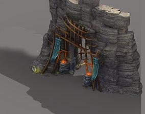Cottage - entrance 02 3D engineering