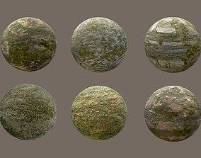 3D asset Grass Material