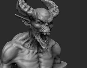 Demon - 3D printing ready sculpture