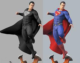 Superman stl printable statue