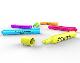 3D model Sharpie Highlighter Marker