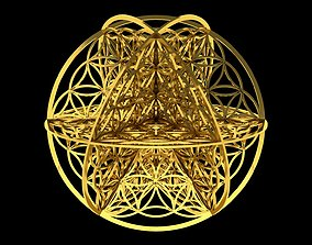Flower of Life 3D pendant