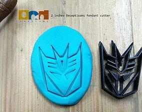3D print model Autobot Decepticons Logo